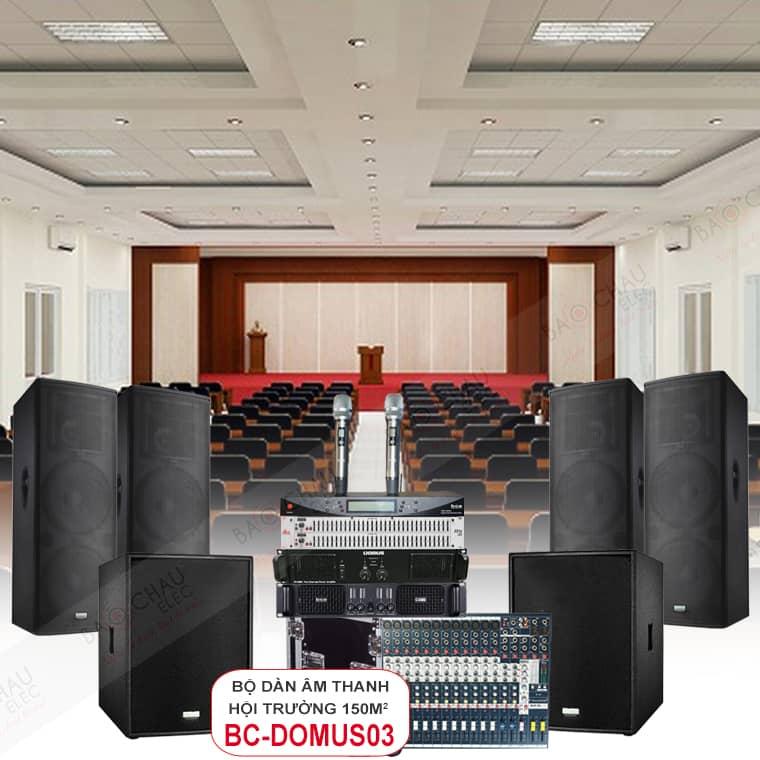 Dàn âm thanh 150m2 BC-Domus03