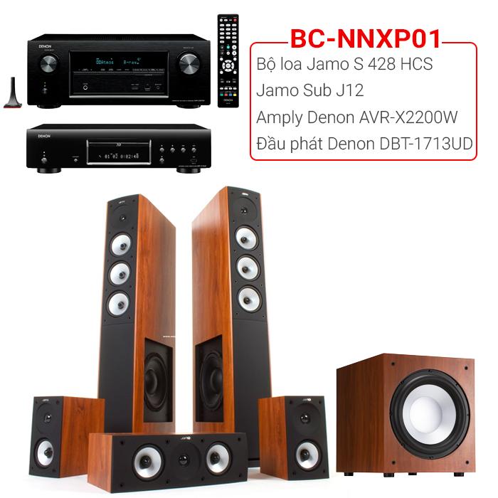 Bộ dàn nghe nhạc, xem phim BC-NNXP01