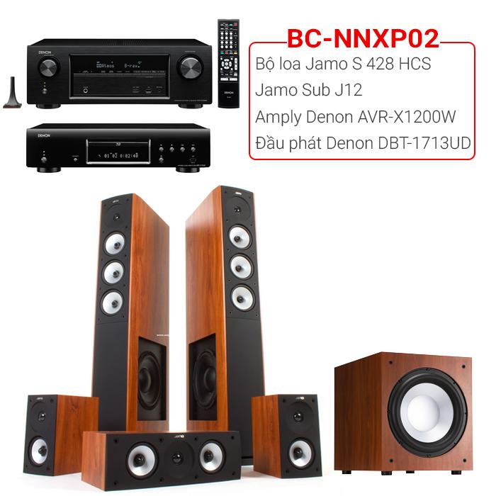 Bộ dàn nghe nhạc, xem phim BC-NNXP02