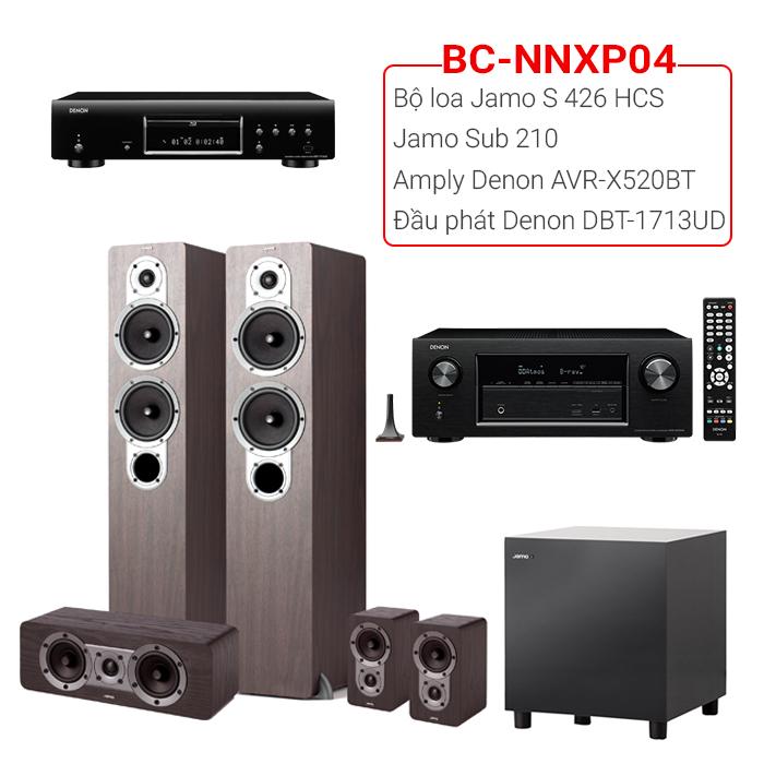 Bộ dàn nghe nhạc, xem phim BC-NNXP04