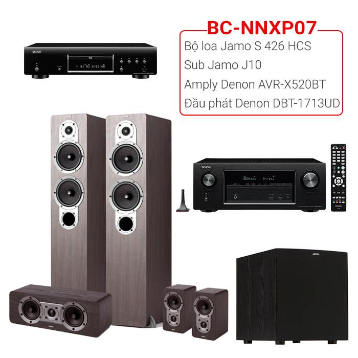 Bộ dàn nghe nhạc, xem phim BC-NNXP07