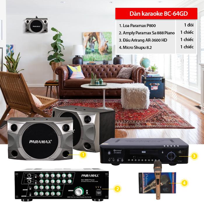 Dàn karaoke BC-64GD