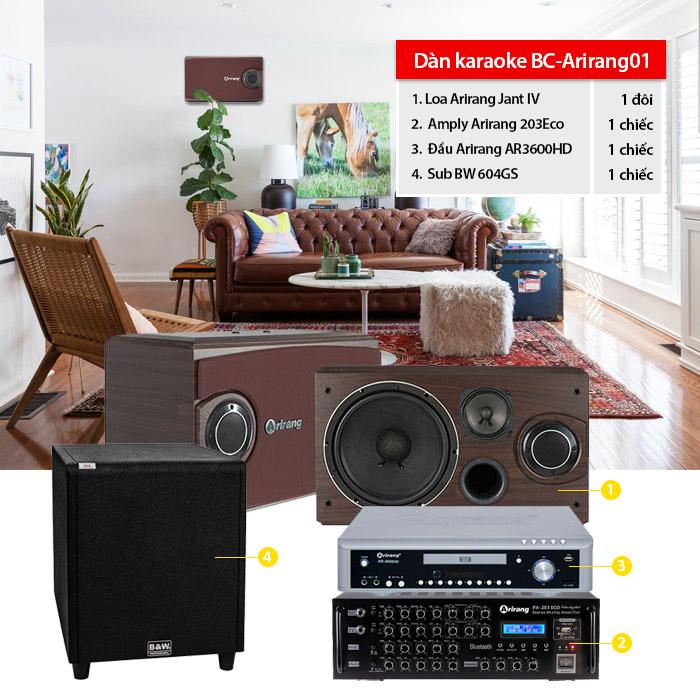 Dàn karaoke BC-Arirang01