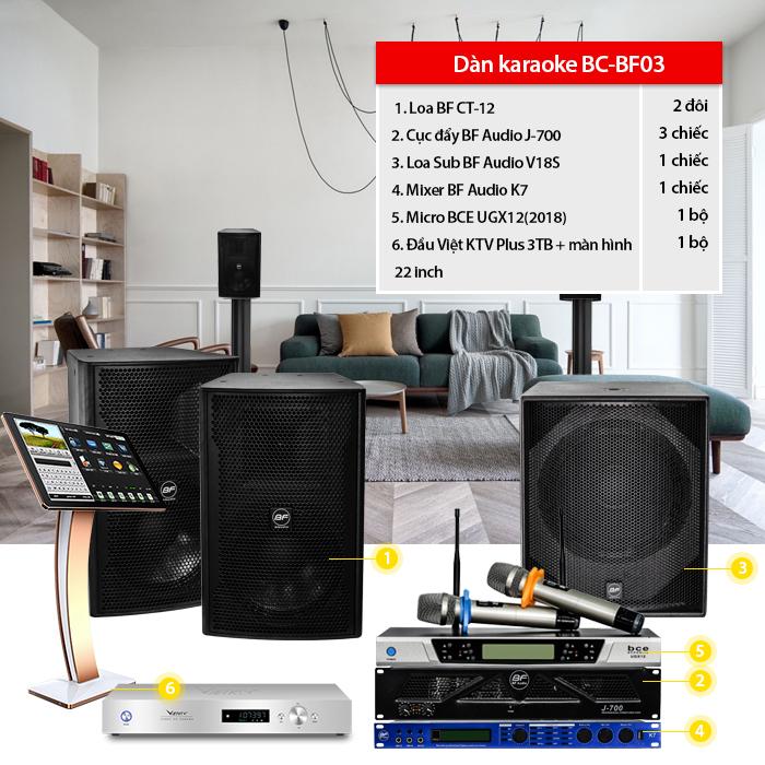Dàn karaoke BC-BF03