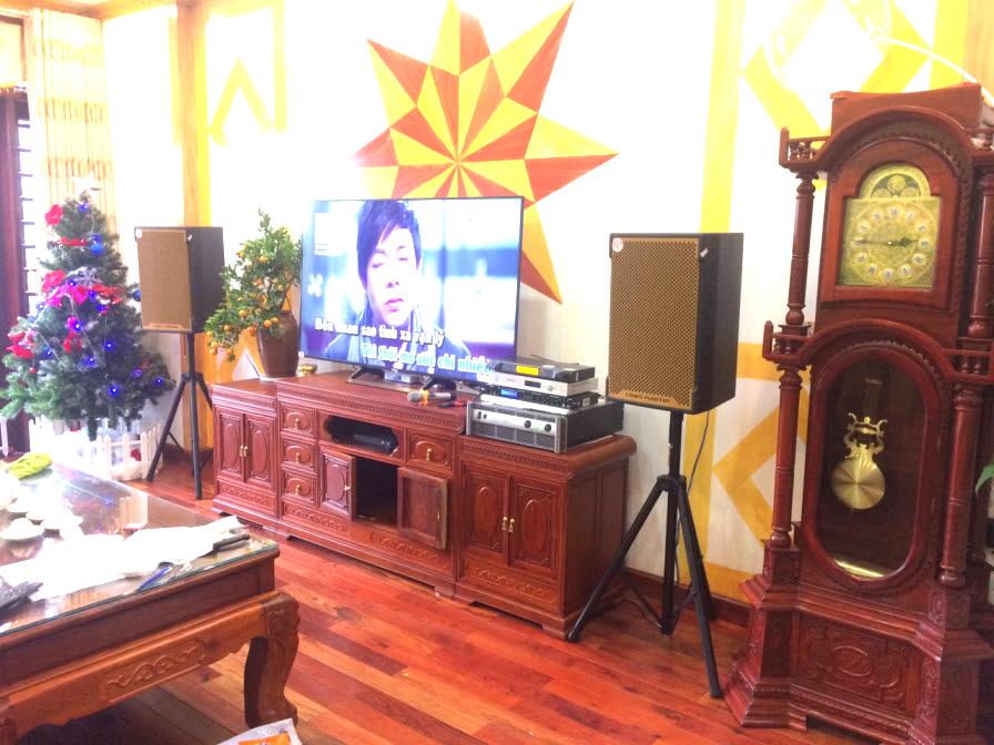 Lắp đặt dàn karaoke cao cấp cho gia đình anh Cường tại Khả Lễ Bắc Ninh