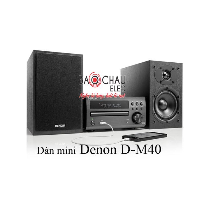 Dàn mini Denon D-M40