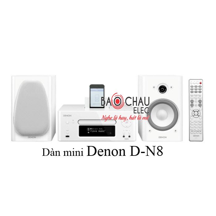 Dàn mini Denon D-N8