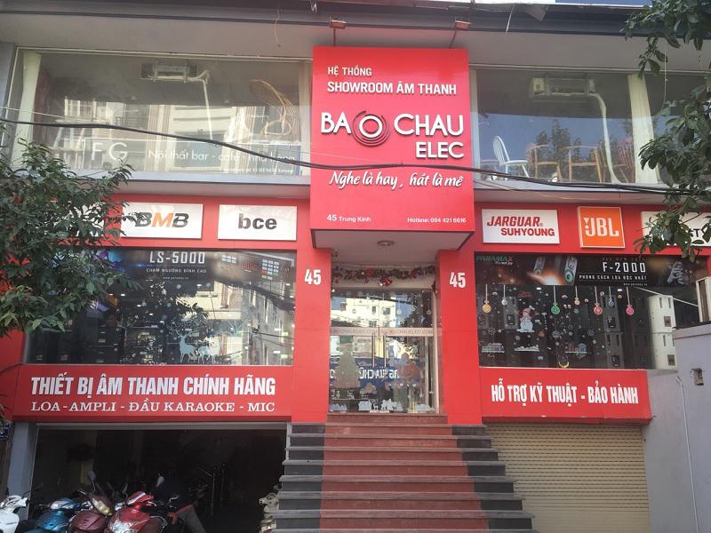 Showroom Bảo Châu Elec tại Hà Nội- 45 Trung Kính