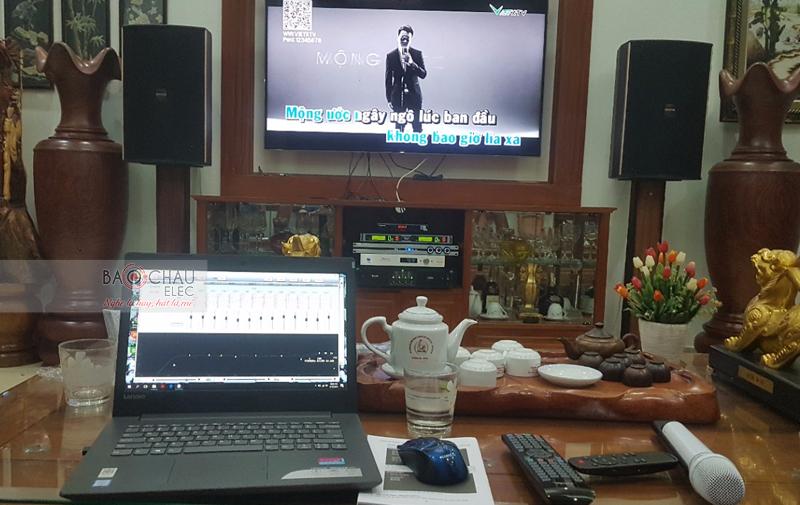 Lắp đặt dàn karaoke gia đình tại TP HCM -01