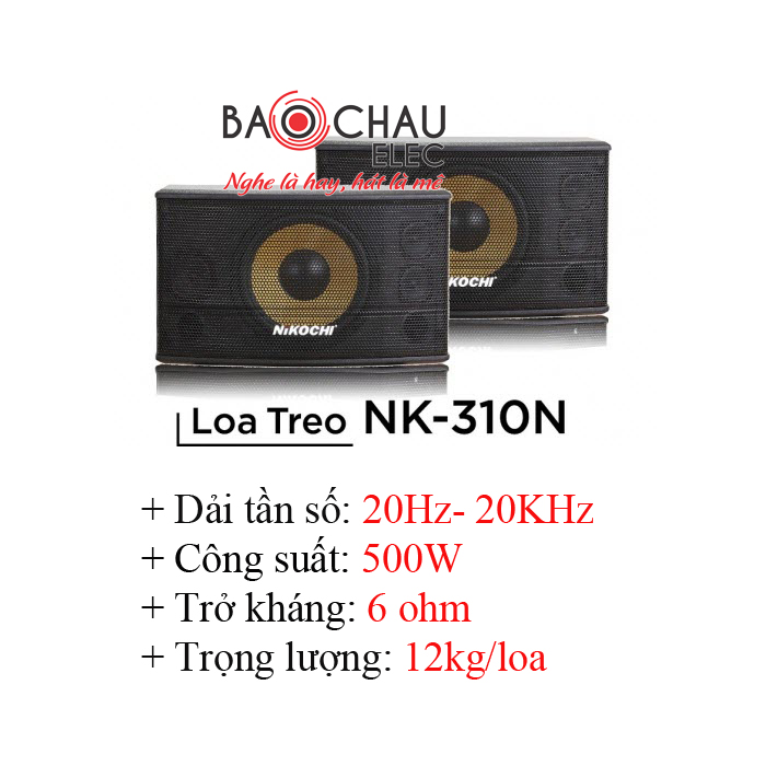 Loa Karaoke Nikochi 310N