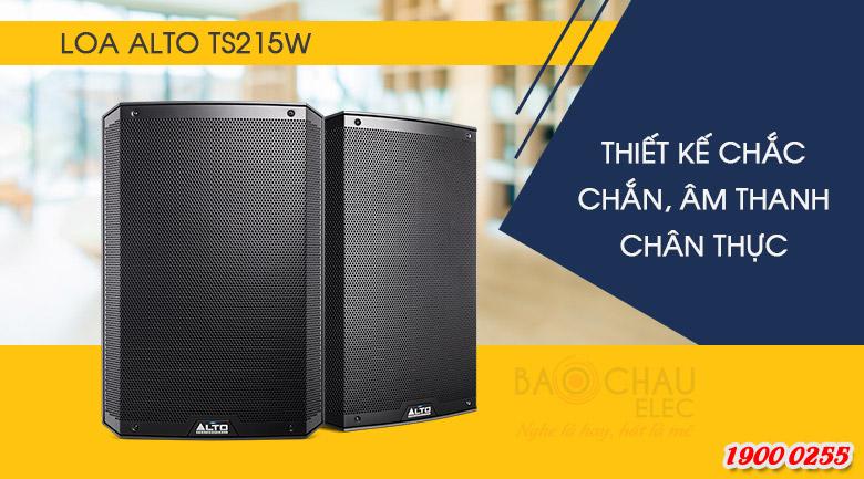 Loa Alto TS215W trang bị nhiều ưu điểm vượt trội