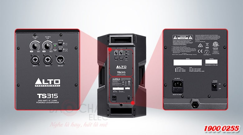 Loa Alto TS315 kết nối dễ dàng