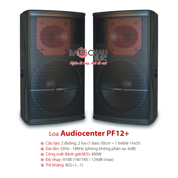 Loa Audiocenter PF12+