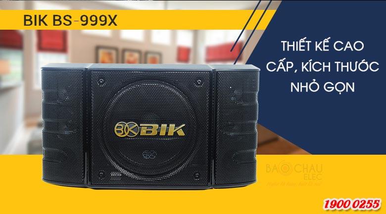 Loa karaoke BIK BS-999X mang thiết kế hiện đại
