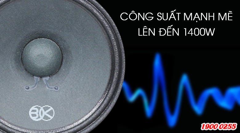 Loa karaoke BIK BS-999X cho công suất mạnh mẽ