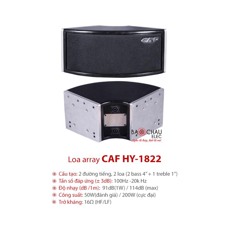 Loa array CAF HY1822