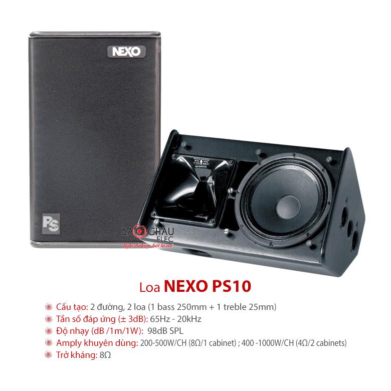 Loa ngoài trời Nexo PS10