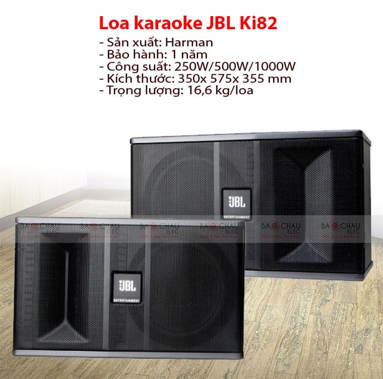 Loa JBL KI 82 chính hãng, giá cực rẻ, hát cực hay