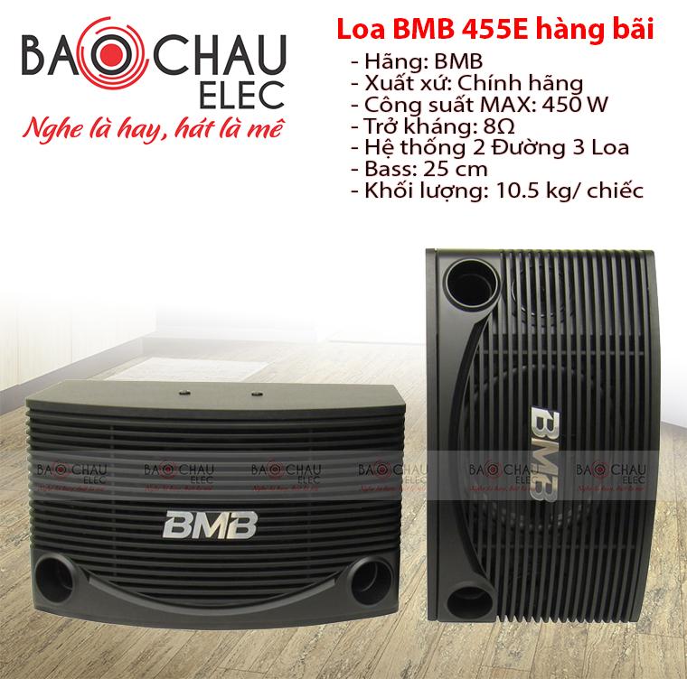 Loa BMB CSN 455E hàng bãi xịn