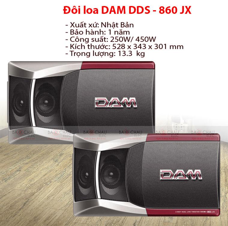 DAM 860 JX