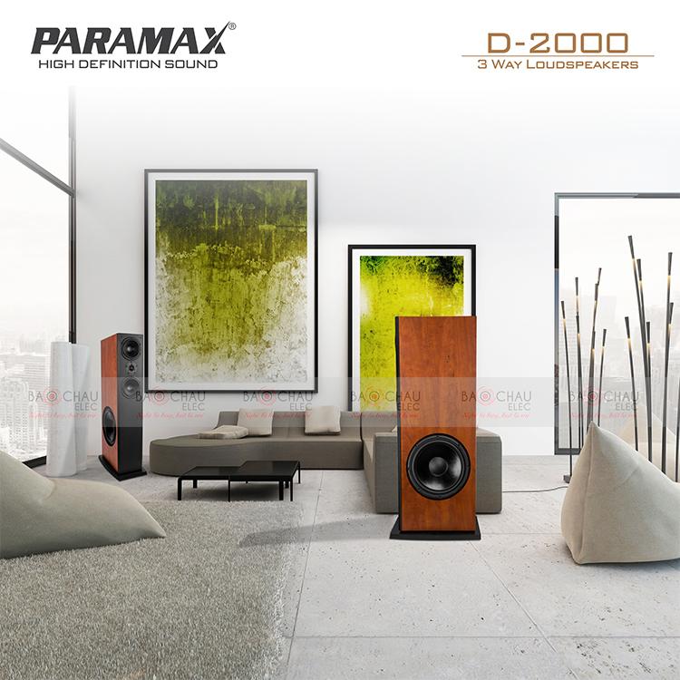 Loa Paramax D2000 dáng loa đứng hiện đại