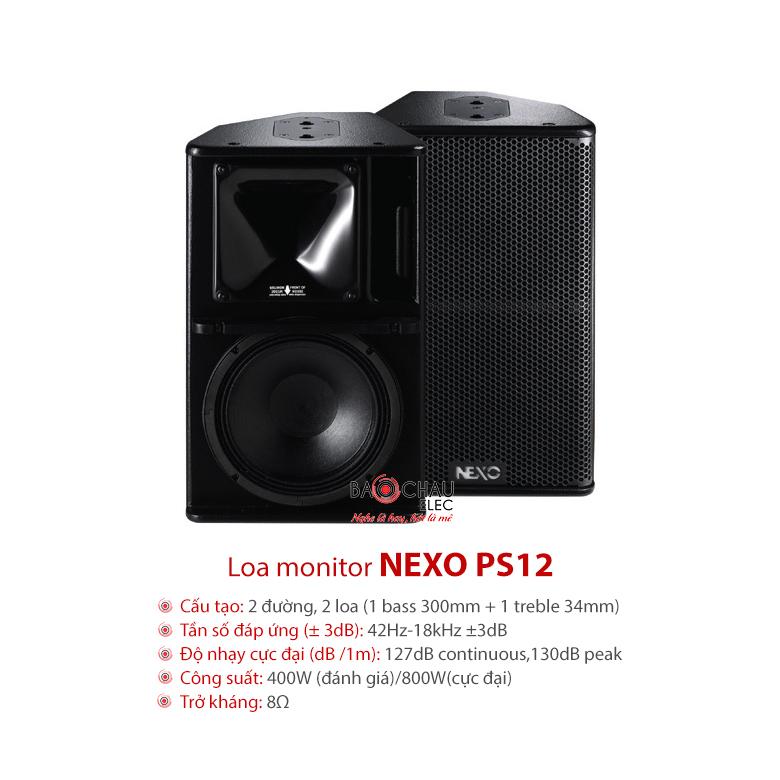 Loa Nexo PS12