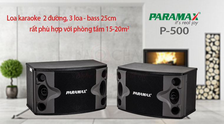 loa-paramax-p-500-voi-phong-15-20m2
