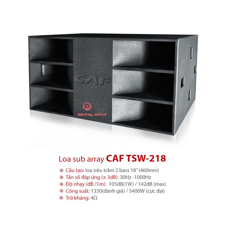 Loa Sub Array CAF TSW218