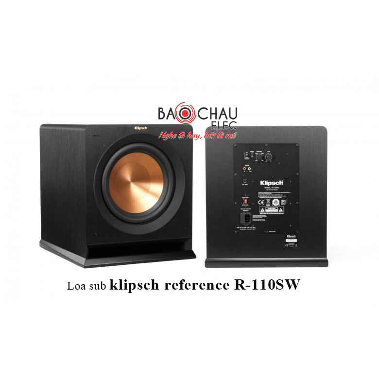 Loa sub klipsch reference R-110SW