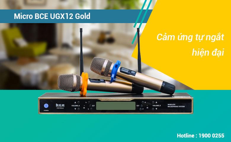 Micro không dây BCE UGX12 Gold bắt sóng tốt