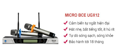 Micro BCE UGX12 (2018)