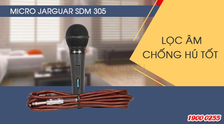micro jarguar SDM 305 chính hãng, chất lượng tốt