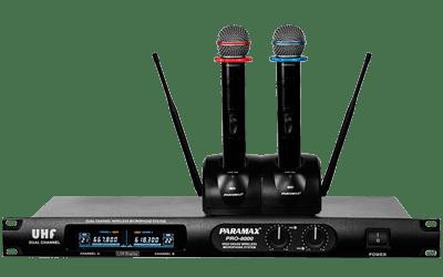 Micro karaoke paramax PRO-8000