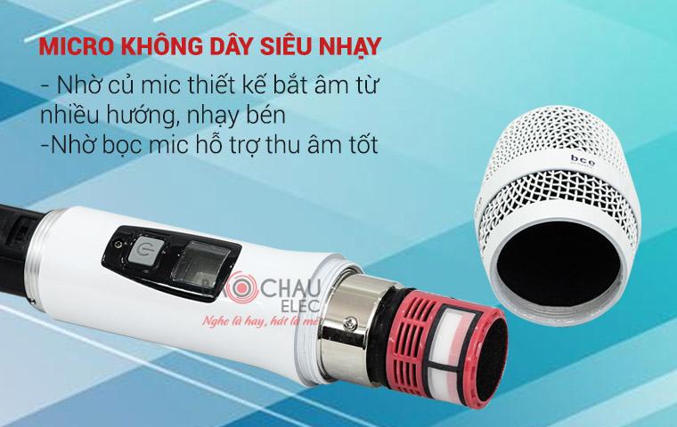 micro-khong-day-sieu-nhay-bce-u900-plus