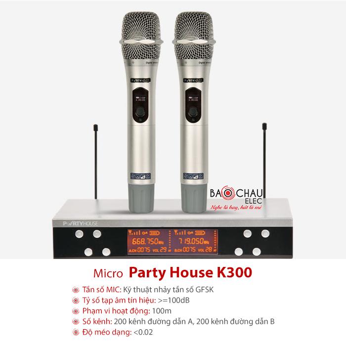 Micro PartyHouse K300