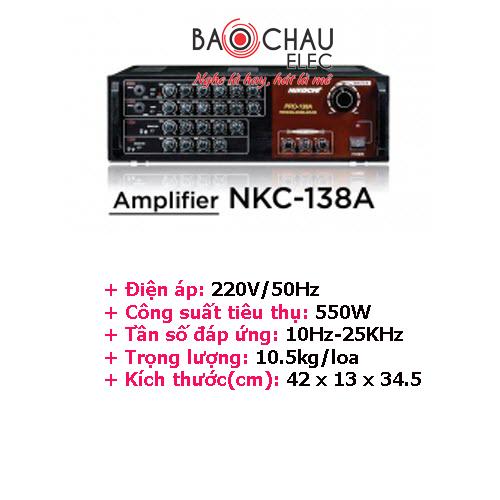 Amply Nikochi 138A
