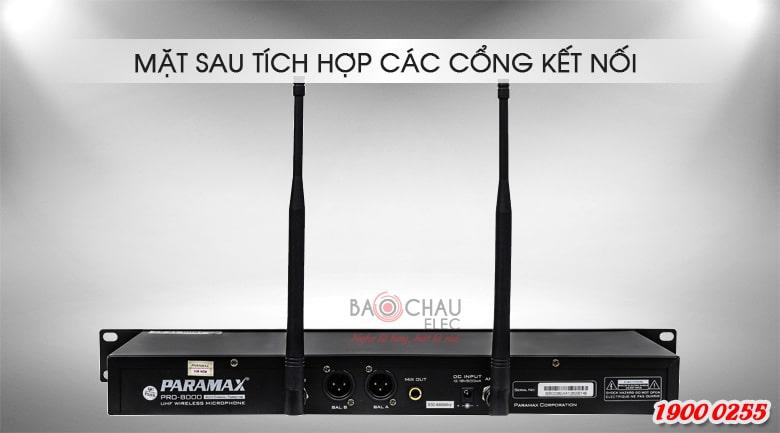 Micro không dây Paramax pro 8000 new bắt sóng mạnh