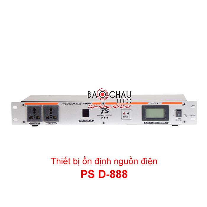 Thiết bị ổn định nguồn PS D888