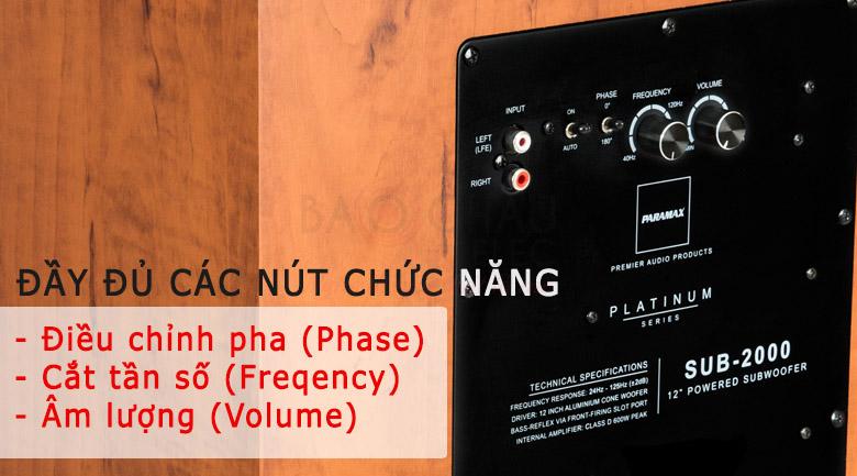 sieu-tram-paramax-sub-2000-cac-nut-chuc-nang