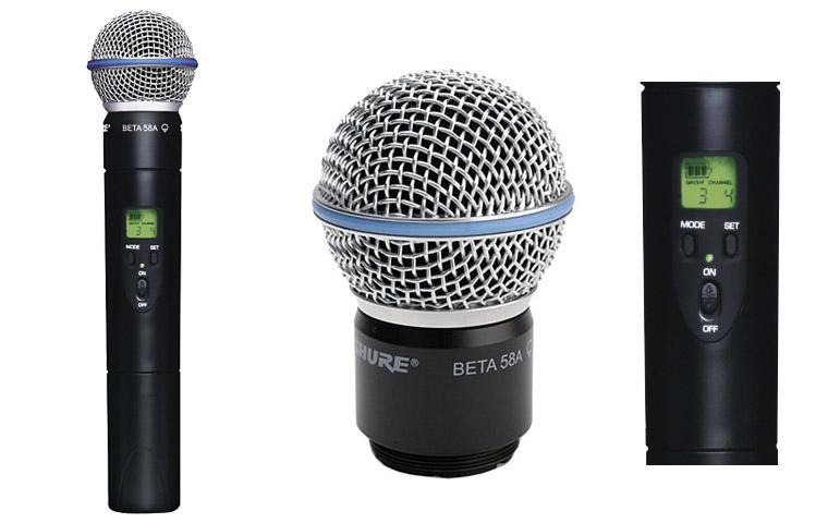 Tay micro Shure Beta 58 hút âm cực tốt