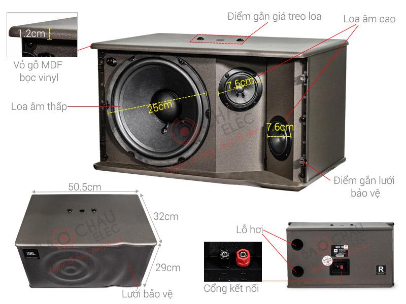 Loa karaoke JBL MK10 (NK Ba Sao)