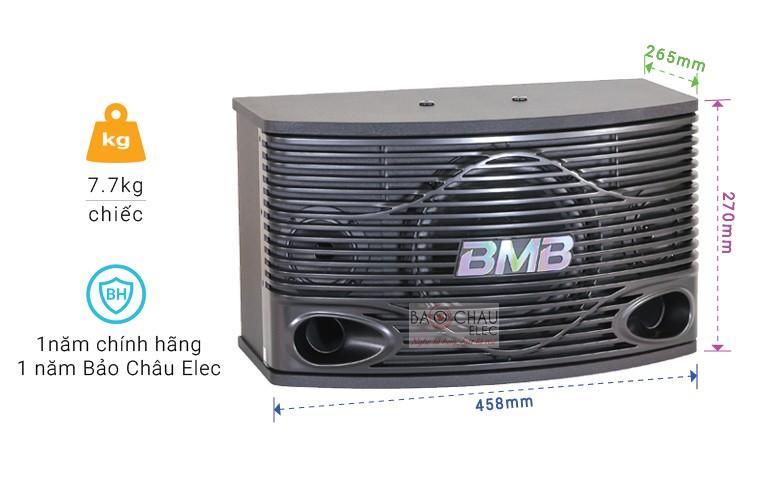 Loa karaoke BMB CSN-300(SE) với những thông số cụ thể