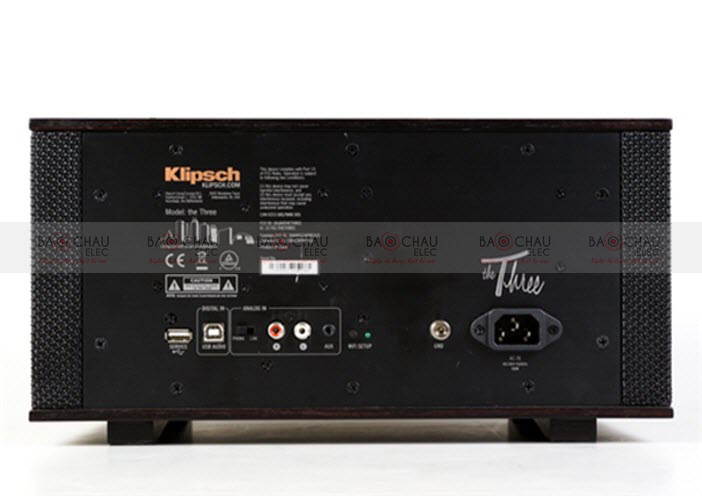 Mặt sau Loa Klipsch The Three