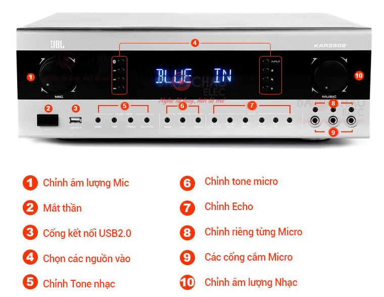 amply-jbl-kar3502-chuc-nang-mac-truoc