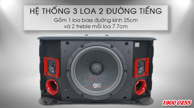 Loa BIK BJ S768 là hệ thống 2 đường tiếng