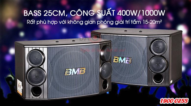 Loa BMB CSD-880(SE) có mức công suất 400W/1000W