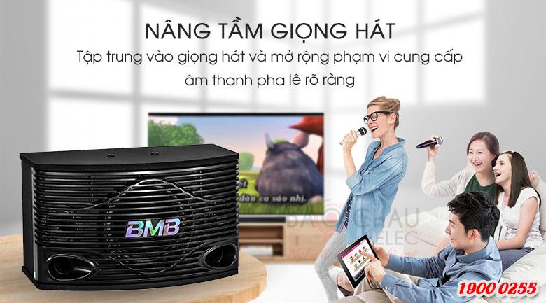 Loa karaoke BMB CSN 300SE thiết kế đẹp mắt, hỗ trợ giọng hát cực tốt