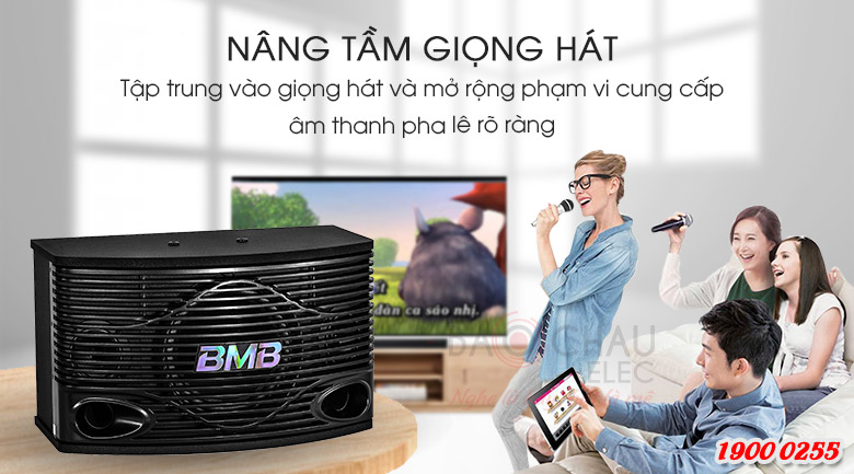 Loa karaoke BMB CSN-300(SE) nâng tầm giọng hát