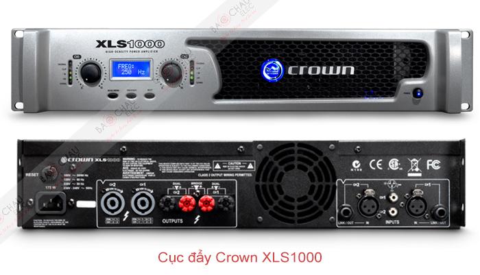 Cục đẩy Crown XLS1000 - 2 mặt trươc/sau