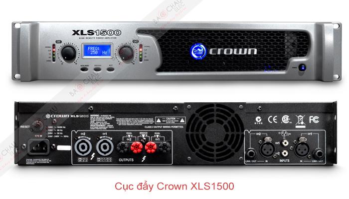 Cục đẩy Crown XLS1500 - 2 mặt trươc/sau